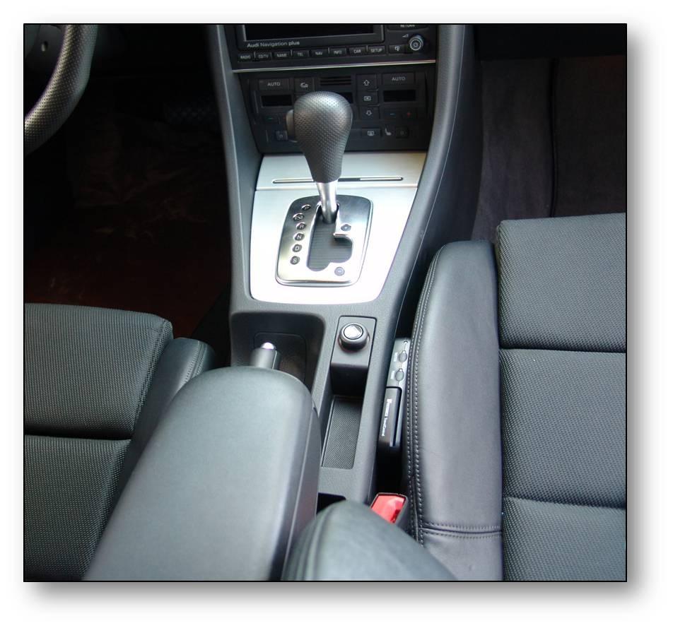 Einbau-elektronisches Fahrtenbuch Audi A4