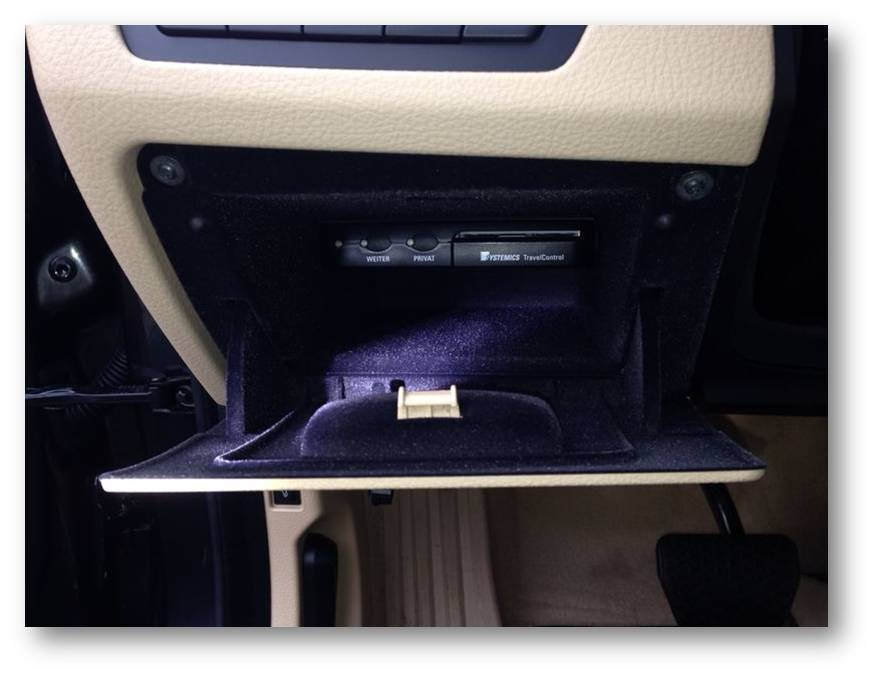 Einbau-elektronisches Fahrtenbuch-BMW 5er