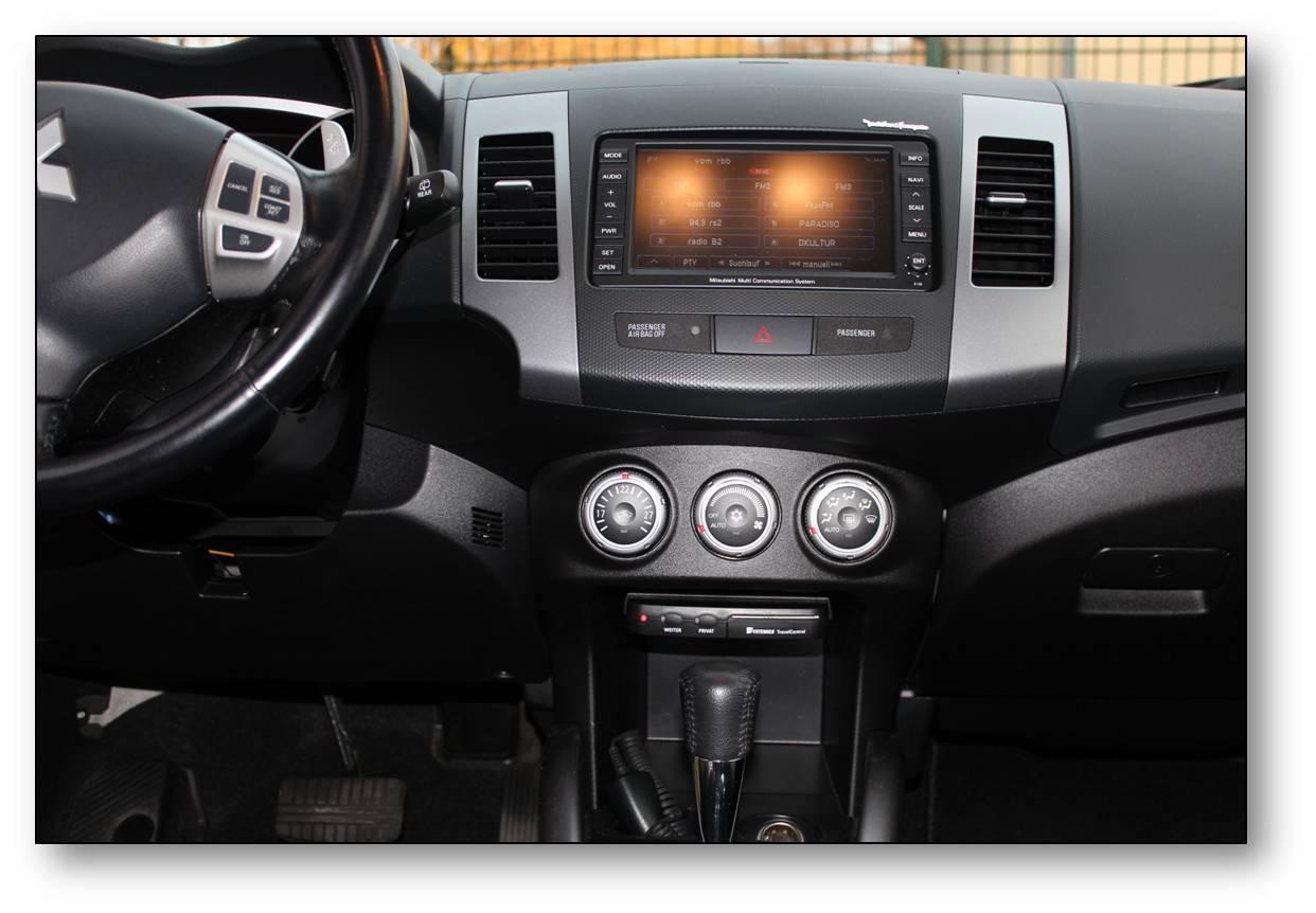 Einbau-elektronisches Fahrtenbuch-Mitsubishi Outlander