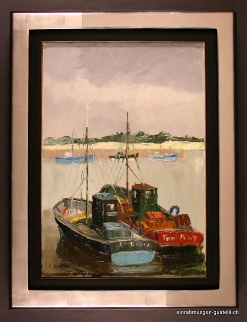 2 Fischerboote vor Anker
