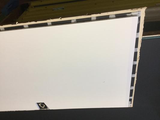 Encadrer une œuvre sur papier