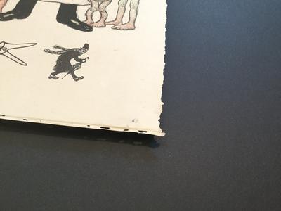 encadrement pour lithographie