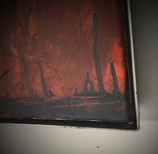 Ölbilder einrahmen - Schattenfugenrahmung - Bilderrahmen