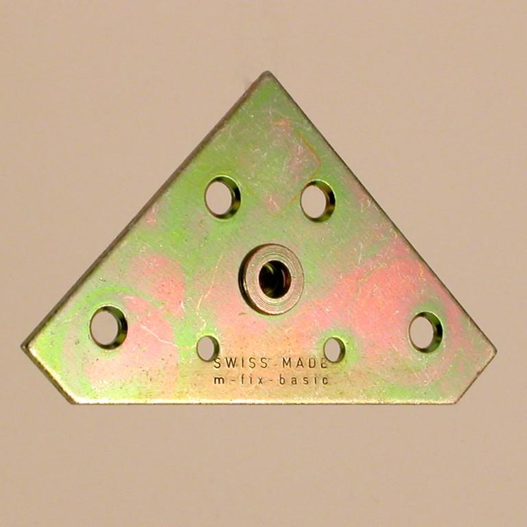 Bildaufhänger - M-Fix-Basic M5 60 x 60 x 1.5 mm, Gewinde M5