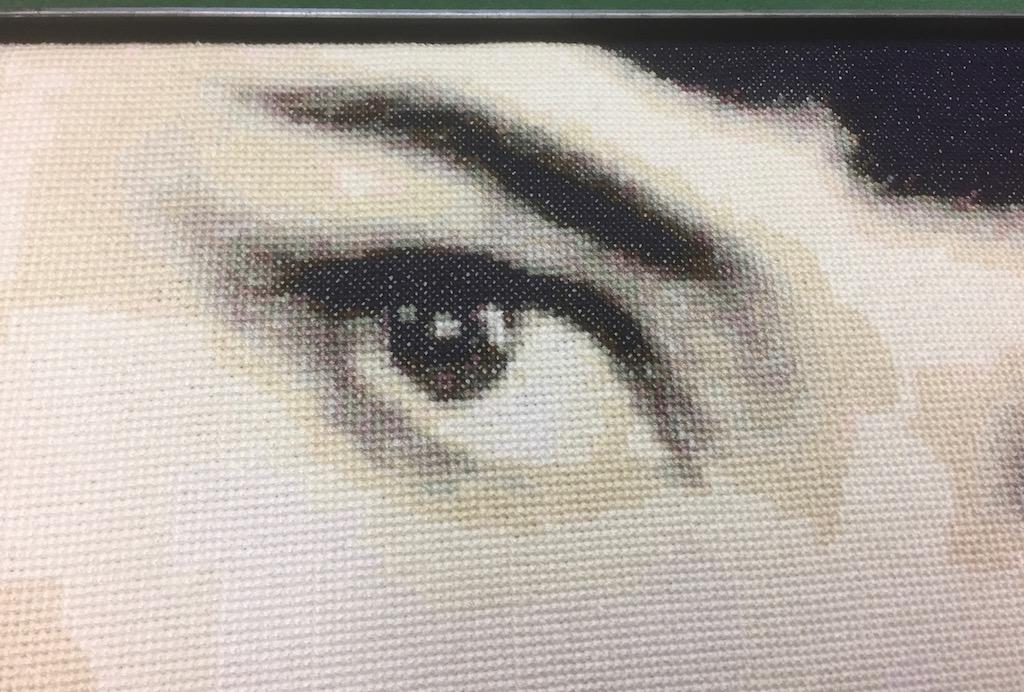 Gobelin von Audrey Hepburn