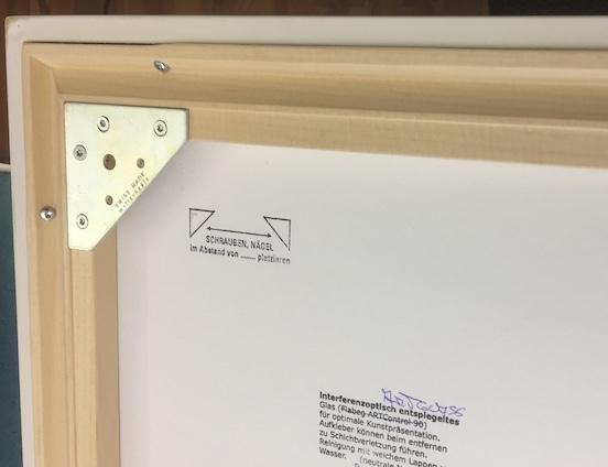 Einrahmen - Einlegrahmen mit Aufhänger