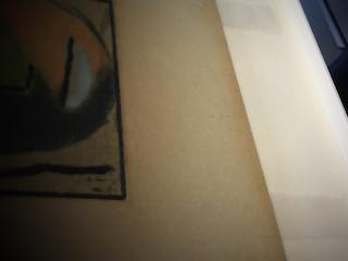 Kastenrahmen; Falze durch Trägerkarton gezogen