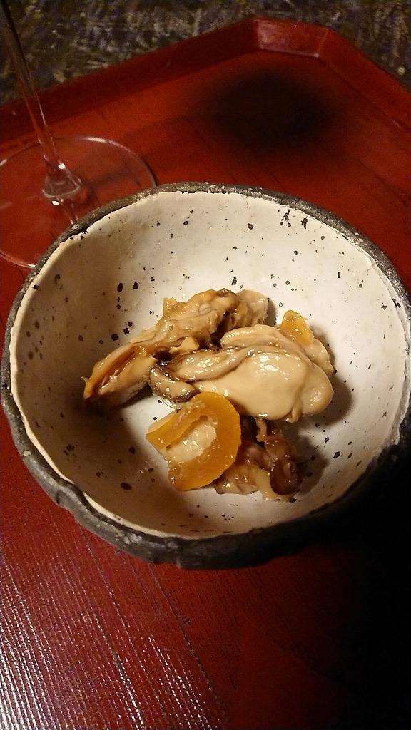 母に預けた「牡蠣」は柚子を纏い・・・