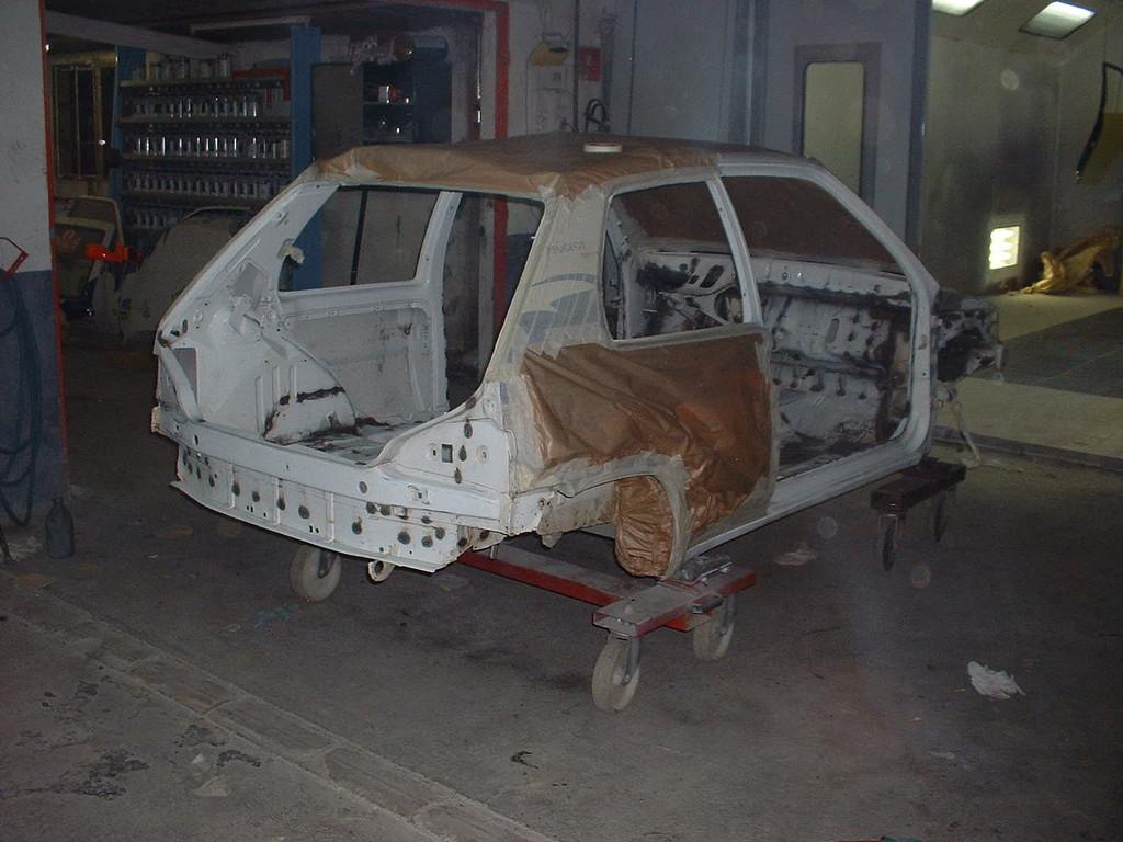 Soudure Caisse 106 Rallye N1