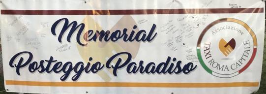"2* MEMORIAL ""POSTEGGIO PARADISO"""