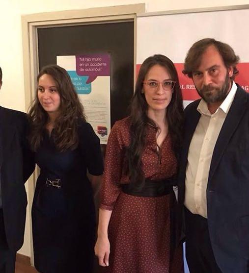 Con la dottoressa Sabrina Magris e la dottoressa Martina Pistis