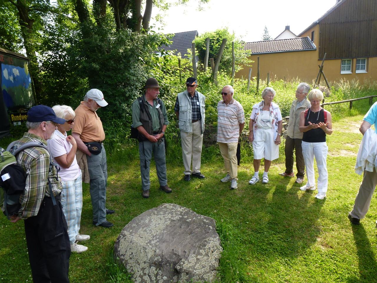 Begrüßung im INFOzentrom Altenrath