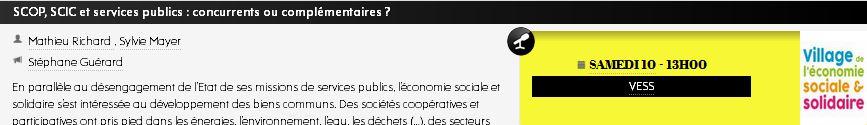 SCOP, SCIC et services publics : concurrents ou complémentaires ?