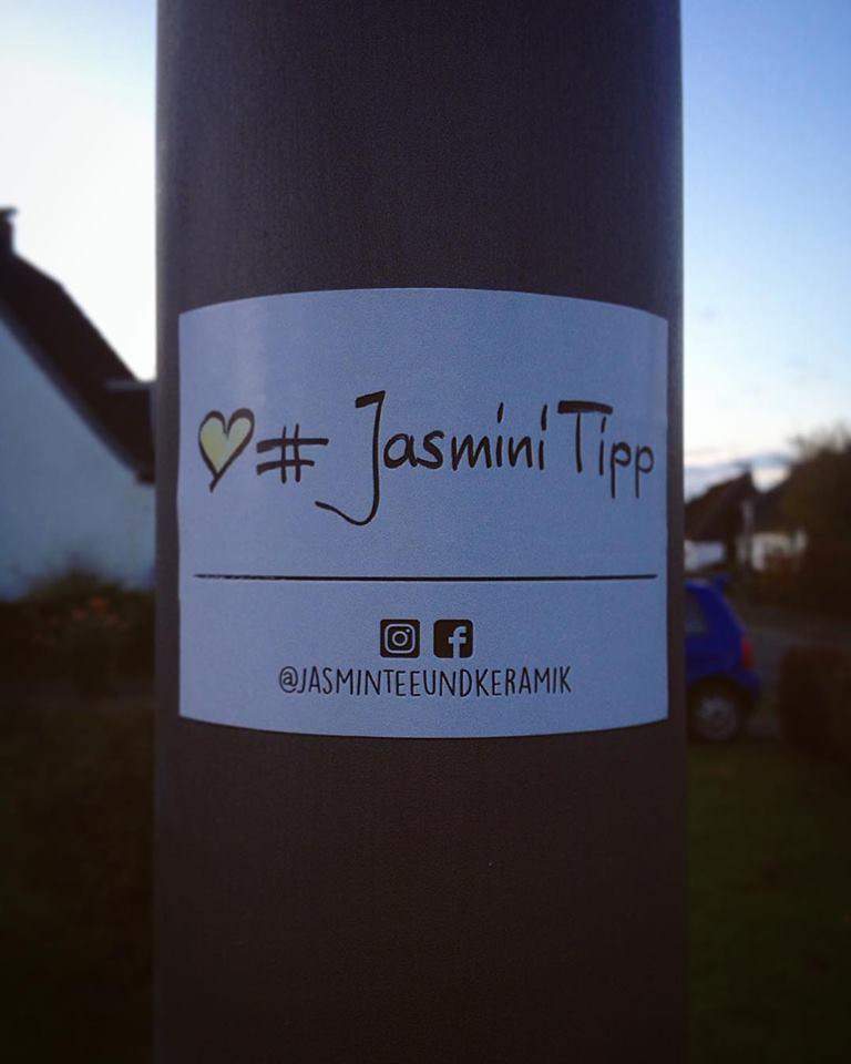 Entdeckt! Wir Jasminis sind überall.