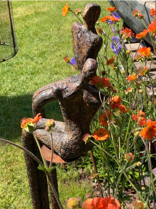 KOSTBARE MOMENTE  *Figurinen-Paar, 75 & 60 cm (Detail)