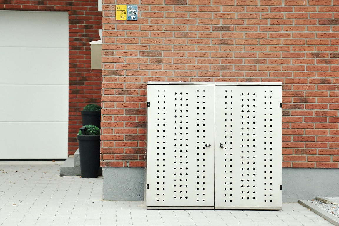 Mülltonnenbox NIWA für 2 Mülltonnen 120l