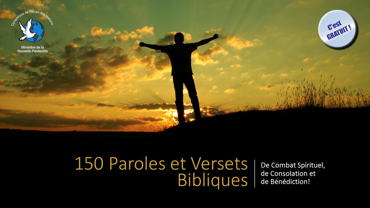 50 paroles de combat spirituel minist re de la nouvelle pentec te - Verset biblique consolation ...