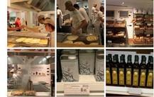 イータリー ローマ店 食材コーナー探索