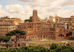 古代ローマ観光地巡り♪ イタリアざんまいツアー