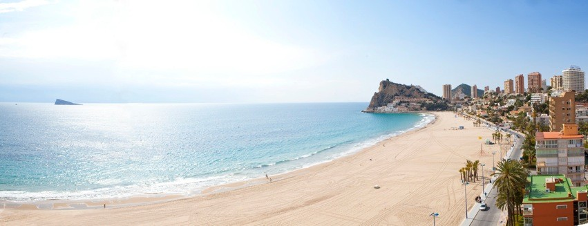 photos plage de bendiorm