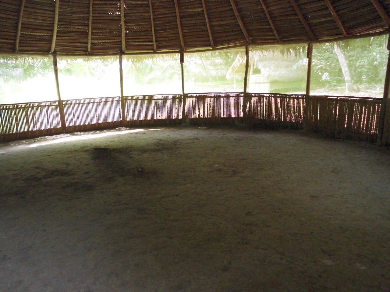 Sacred space, where hold ceremonies, meditation, yoga, dance, etc ...