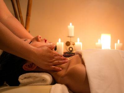 Schulter-Nacken Massage