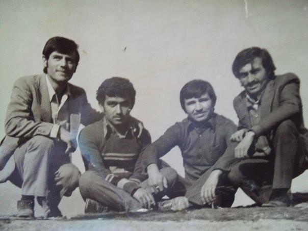 Soldan sağa: Lütfi Erkuş, Erol Ayana, Hüseyin Atıcı, Osman Aygün
