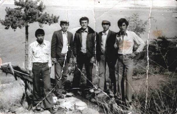 Salda Gölü Sultan Pınarı — Atilla Ayas, Ömer Akşit, Mevlüt Yaşar, Yüksel Abacı ve Mithat Çabuk ile birlikte.