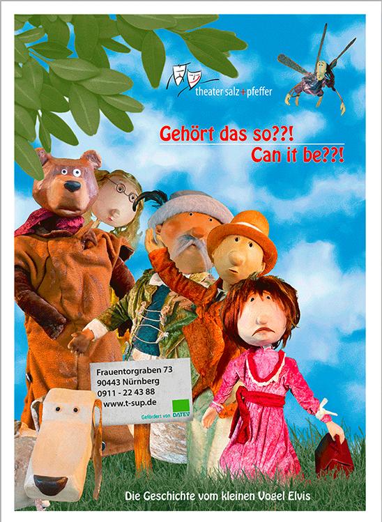 Plakat | Theater Salz+Pfeffer