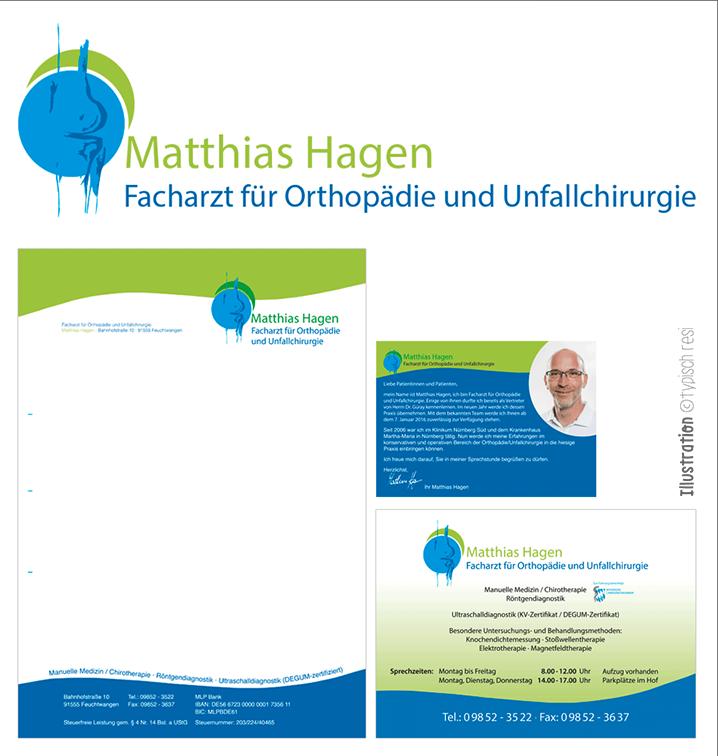 Geschäftsausstattung, Logo: typischresi.de | Matthias Hagen