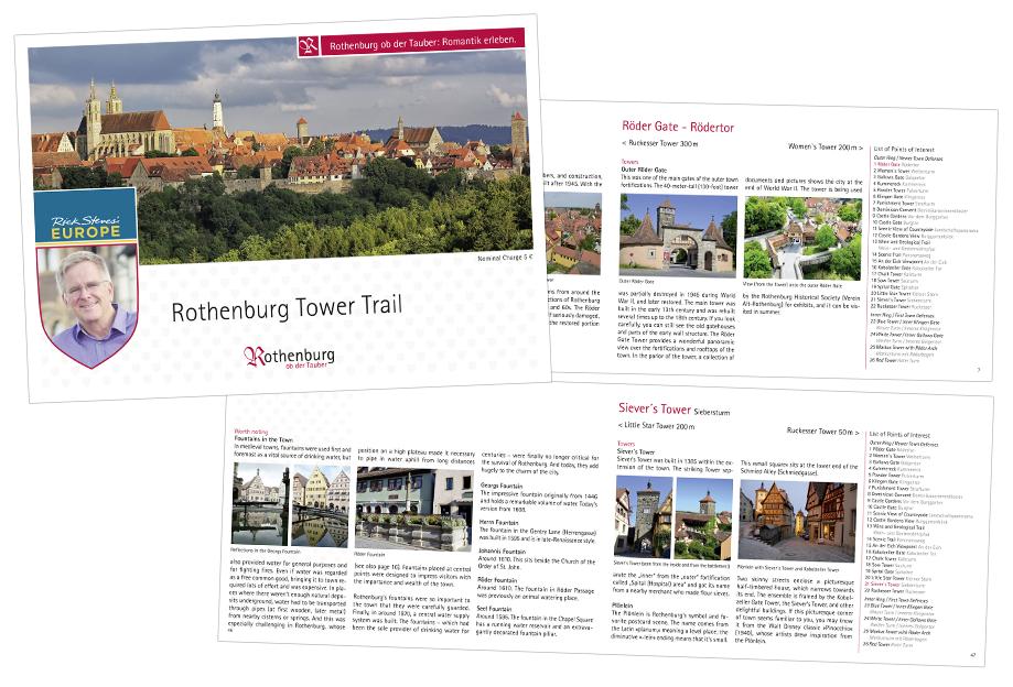Turmwegbroschüre | Rothenburg ob der Tauber