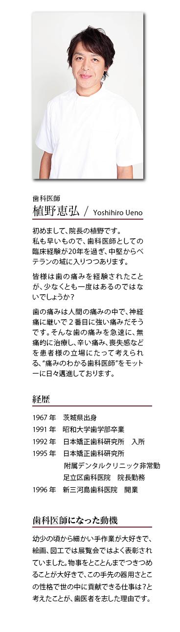 新三河島歯科医院 院長紹介