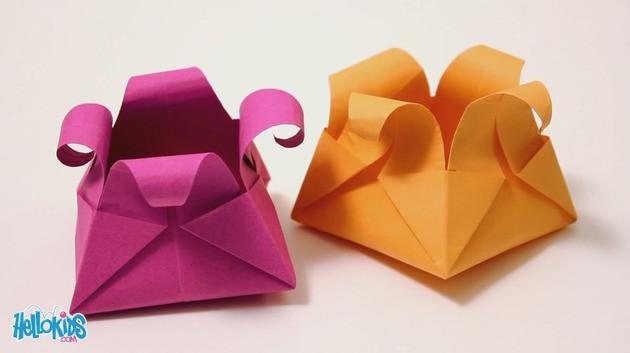 Origami Panier