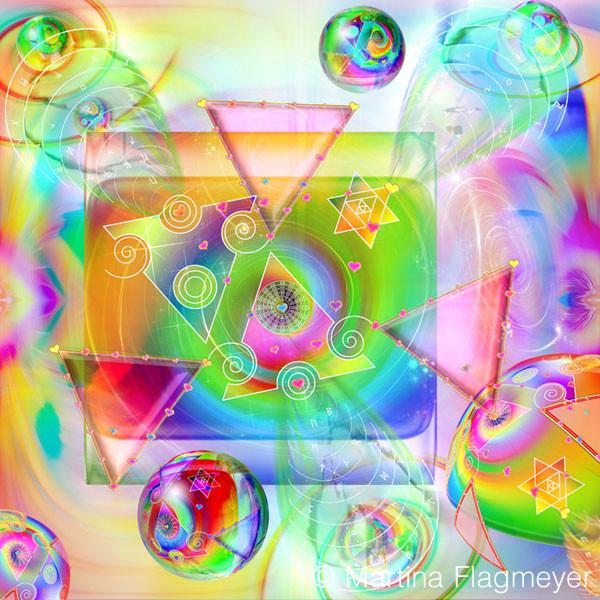 Runenspirale Tor des Lebens