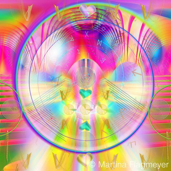 Runenspirale innere Balance