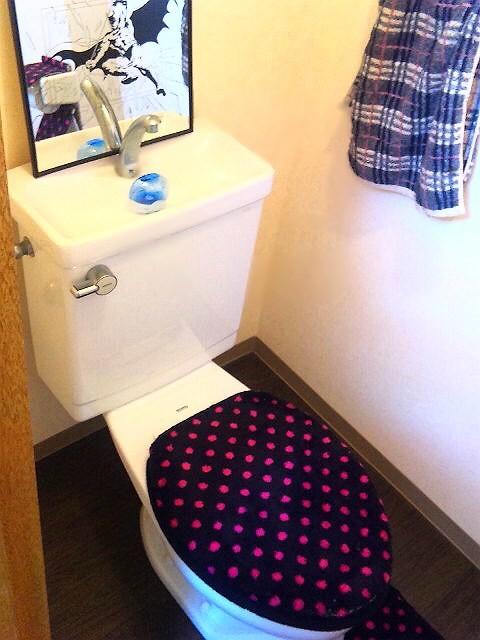 おしゃれにおちついた 1F トイレ