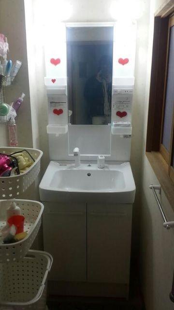 1階の洗面所★