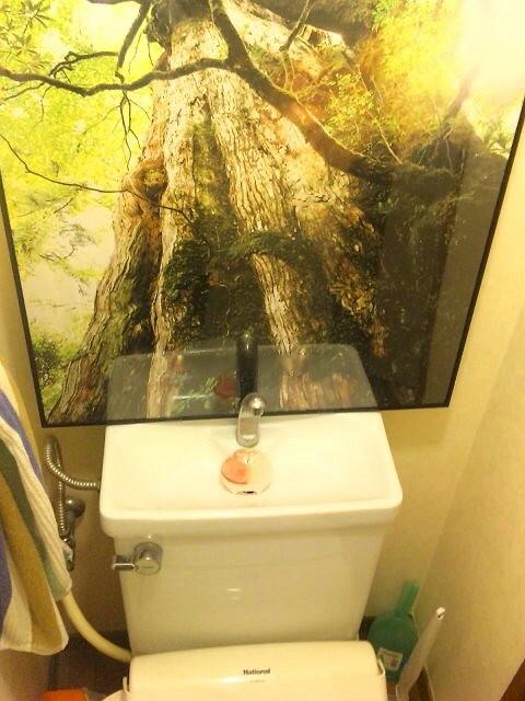 大自然を感じる事ができる 2F トイレ