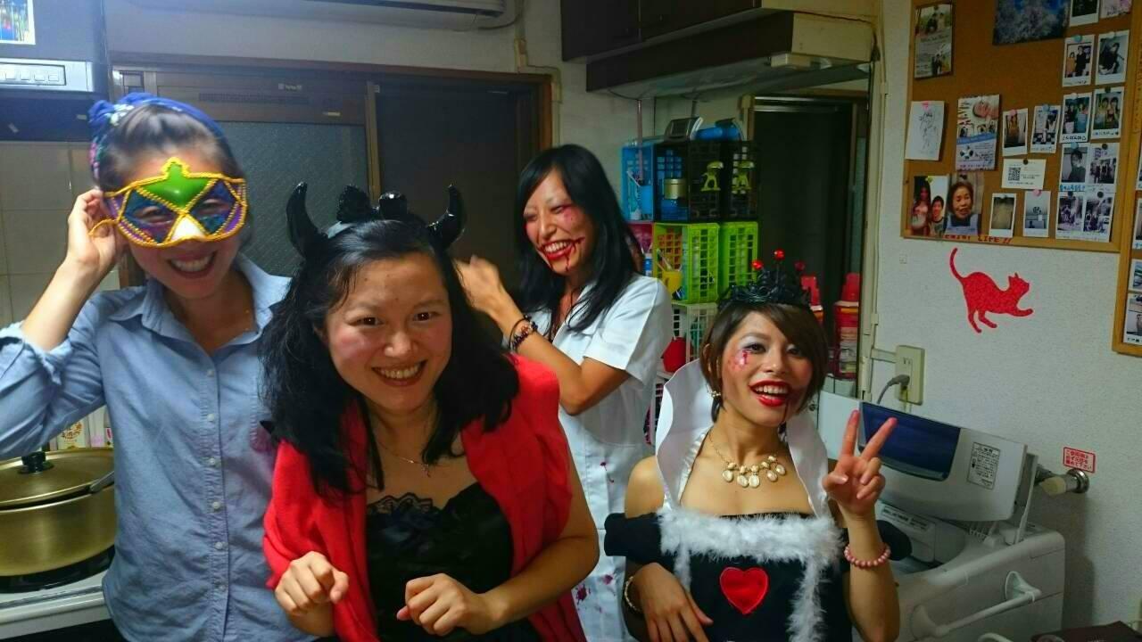 ハロウィンパーティをしました。