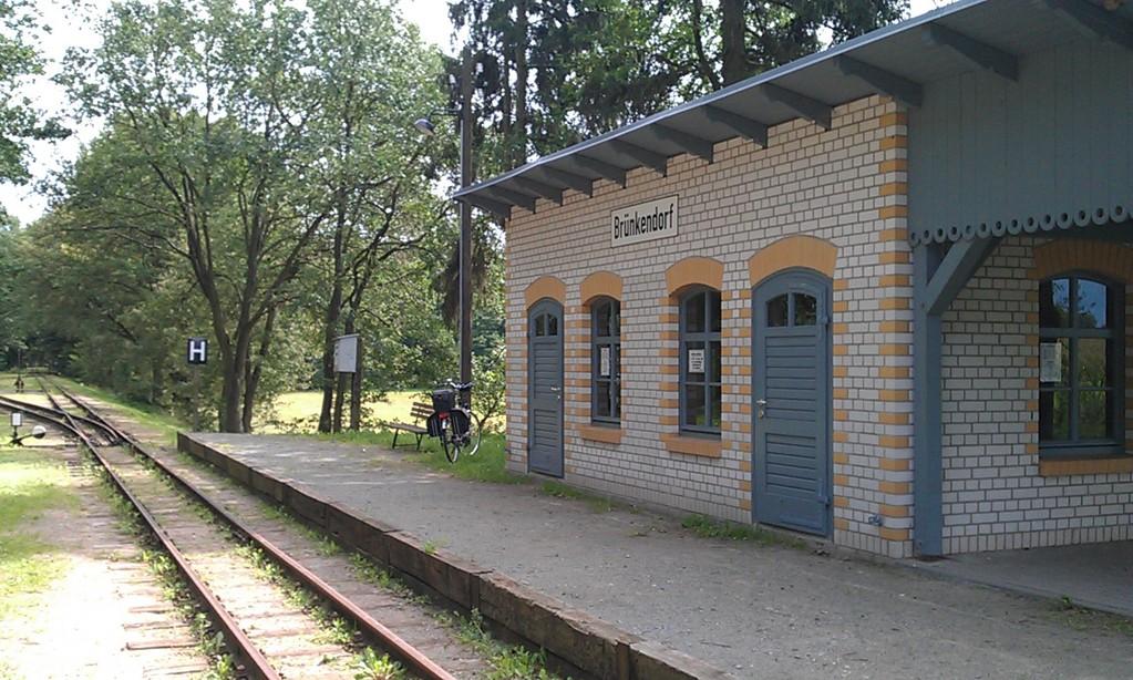 kleine Pause an der Prignitzer Eisenbahn