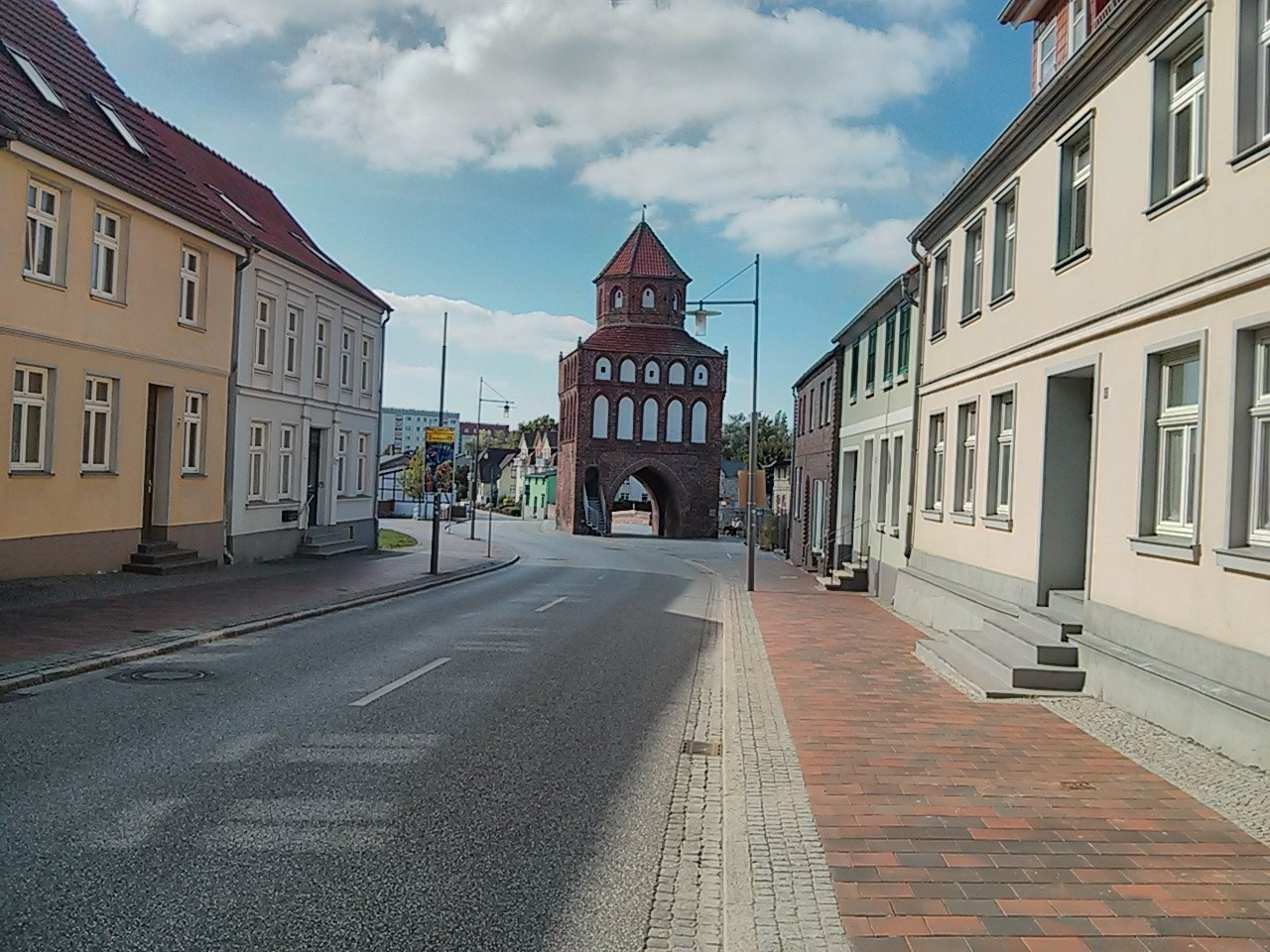Rostocker Tor in Ribnitz Damgarten