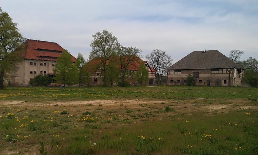 Speicher-Ruinen