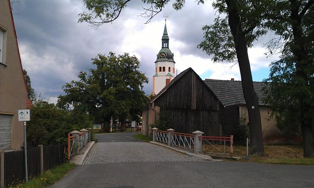 Dorf in der Lausitz