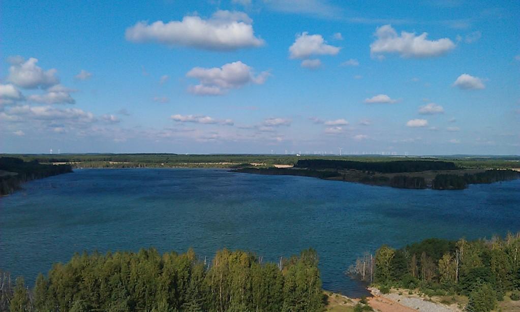 Blick übers Seenland