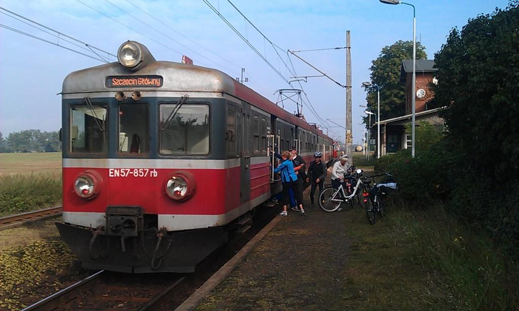 gemütliche Bahnfahrt