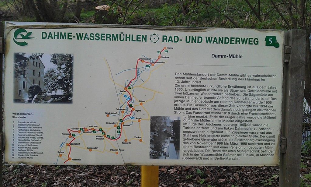 Dahme-Wassermühlentour
