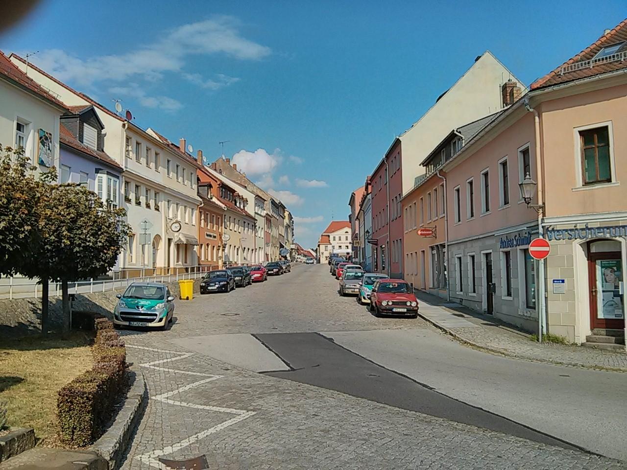 Blick zurück Königsbrück