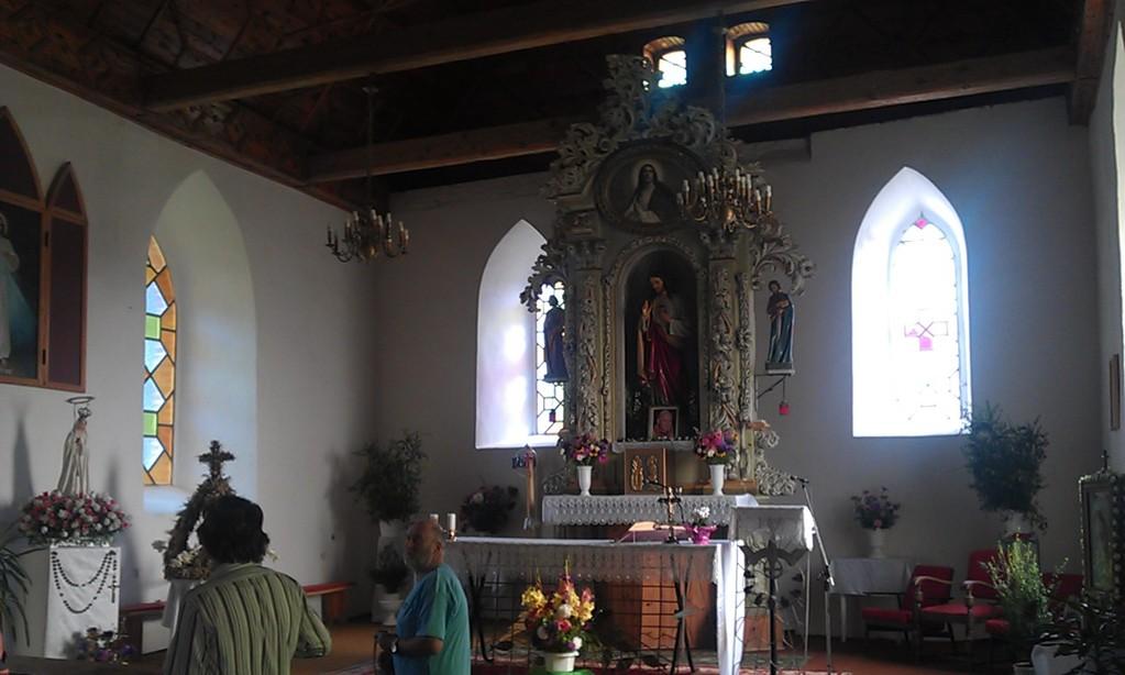 Kirche Kurzycko innen