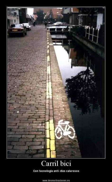Radweg für die heißen Tage!   ;-)