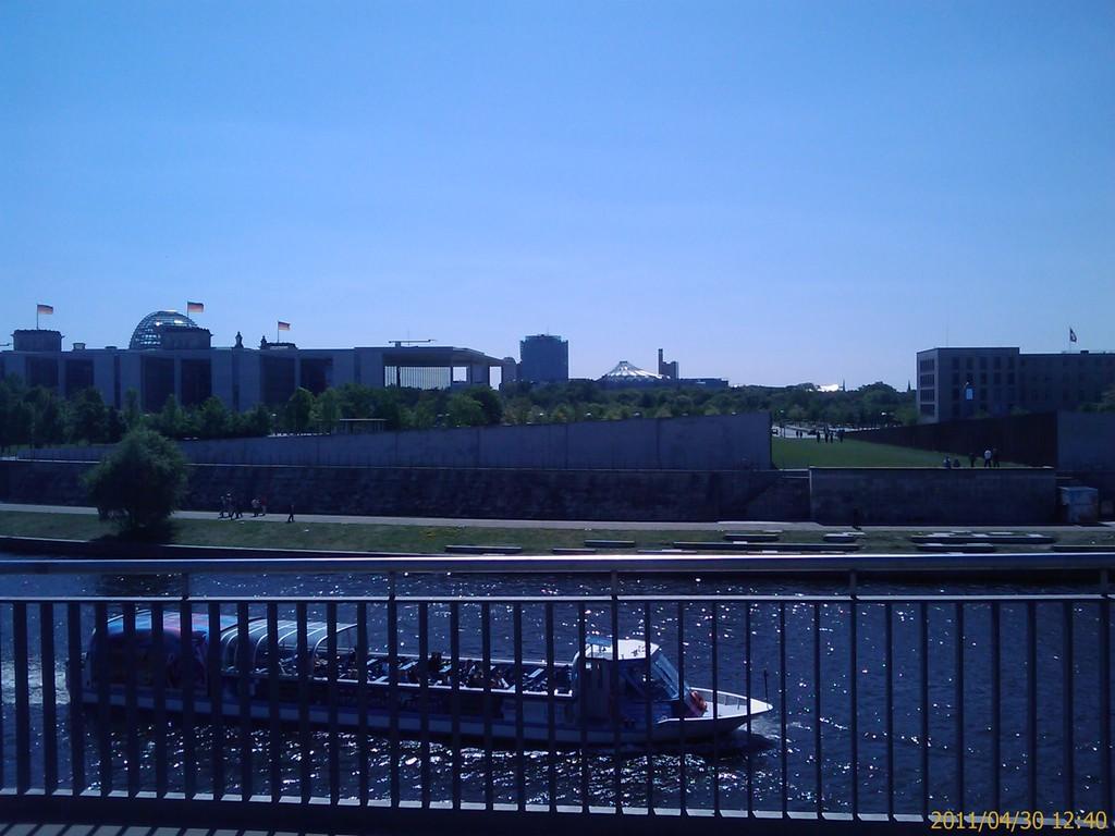 Potsdamer Platz und Regierungsviertel